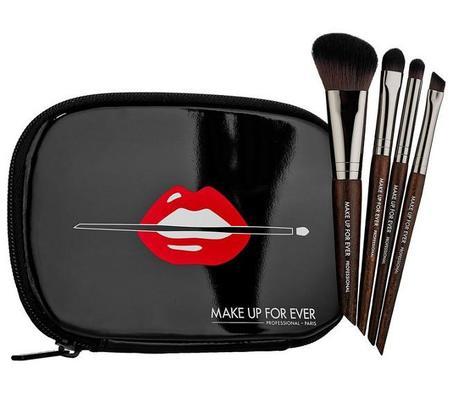 Travel Brush Set, el regalo navideño de Make Up For Ever para las fans de sus brochas