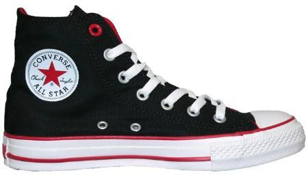 Fundiendo Visa: Converse negras (PRODUCT)RED