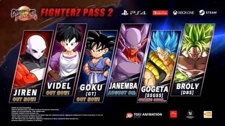 Dragon Ball FighterZ - Pase Temporada