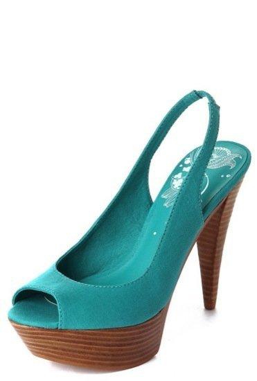 Bershka peep toe