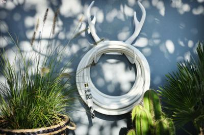 Tres detalles para dar un toque de glamour a tu jardín