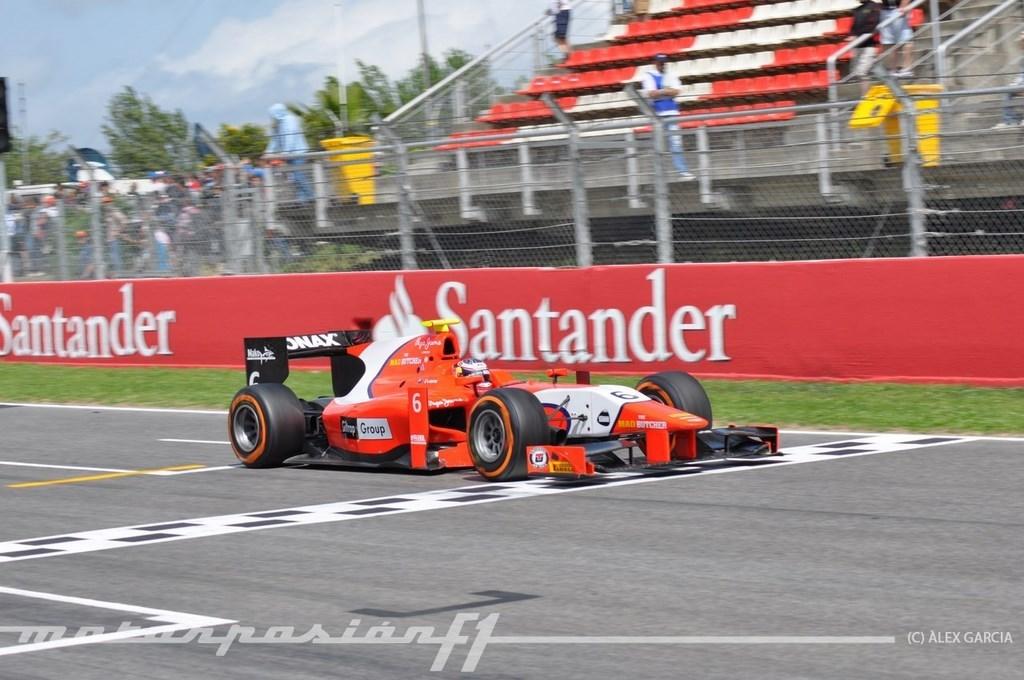 Foto de GP2 2013 Barcelona (89/138)