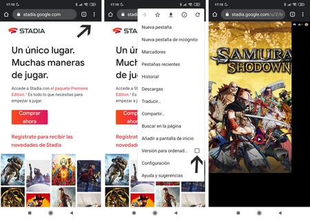 Activando la vista de escritorio de Google Chrome en móviles