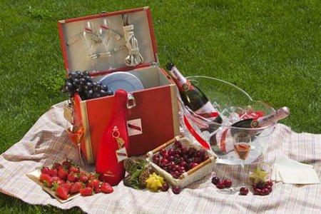 Cesta de picnic de G.H. Mumm