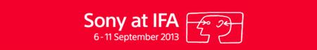 Sigue en directo la presentación de Sony en el IFA 2013 #sonyenIFA13