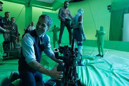 Snyder rodando las escenas submarinas de Aquaman