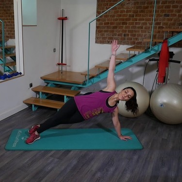 [En vídeo] Entrenamiento de ocho minutos para poner tus abdominales a punto