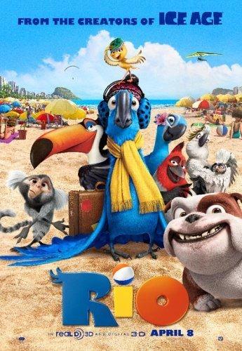 La nueva película de BlueSky se llama Río y nos presenta al guacamayo Blu