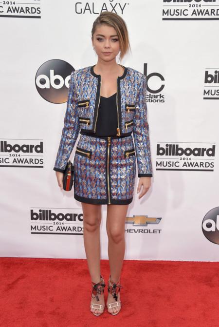 Sarah Hyland de Emilio Pucci Billboard 2014 mejor vestidas