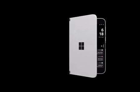 """Microsoft resuelve el no tener pantalla externa en el Surface Duo con """"vistazo"""": ver contenido sin abrir por completo las pantallas"""