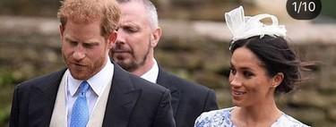 Así ha sido el primer look de invitada de boda de Meghan Markle