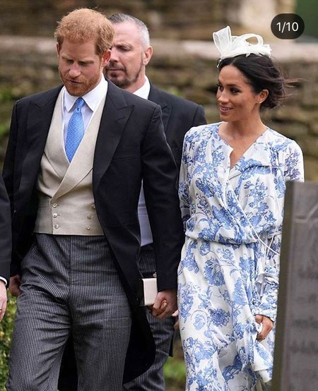 un vestido de 4.428 euros la elección de meghan markle para ir de boda