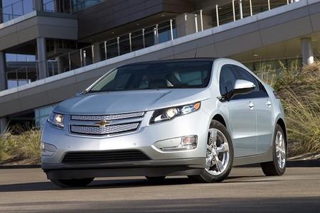 Chevrolet Volt gris
