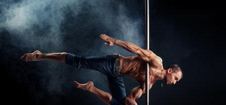 Pole dance, ponte en forma sobre una barra