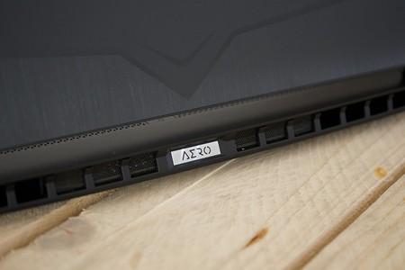 Gigabyte Aero 15 Oled Detalle Logo Ilimunado