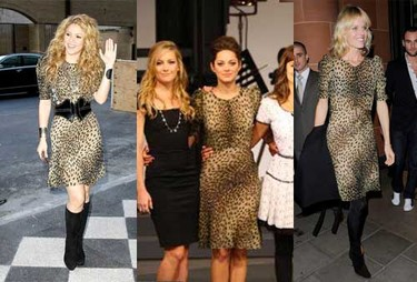 Vestido de Isabel Marant: ¿Marion, Shakira o Eva?
