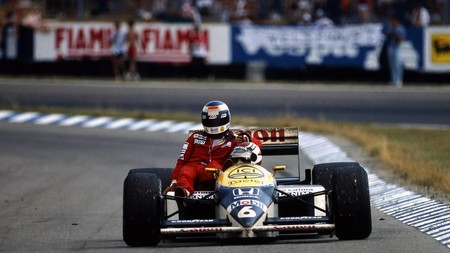 Nelson Piquet Keke Rosberg F1