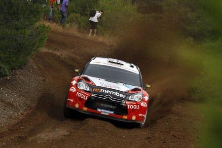 Rally acrópolis 2011: Petter Solberg marca el ritmo en el inicio