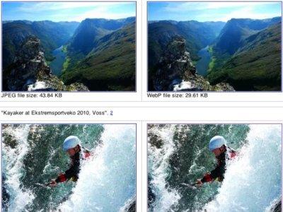 Mozilla decide no dar soporte al formato de imagen WebP de Google