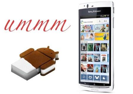 Ice Cream Sandwich para todos los Sony Ericsson actuales [Actualizado]