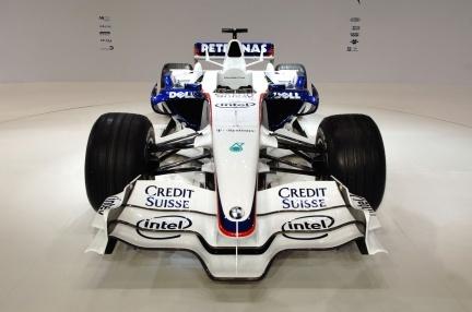 Datos técnicos y fotografías del nuevo BMW Sauber F1.08