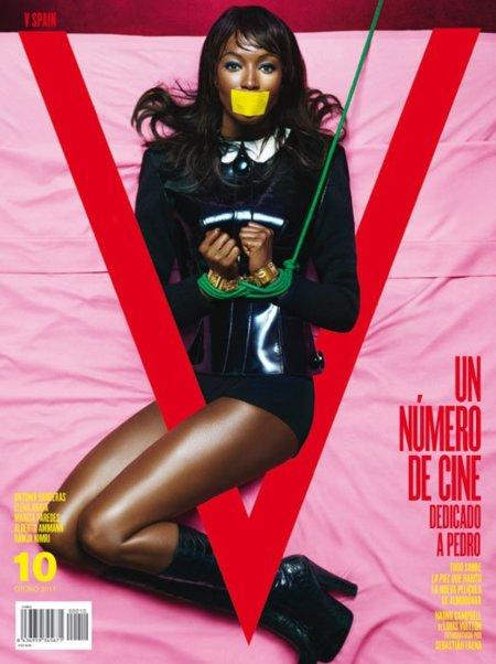 Naomi Campbell se ata por Almodóvar
