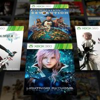 La trilogía de Final Fantasy XIII se unirá en unos días a los retrocompatibles en Xbox One