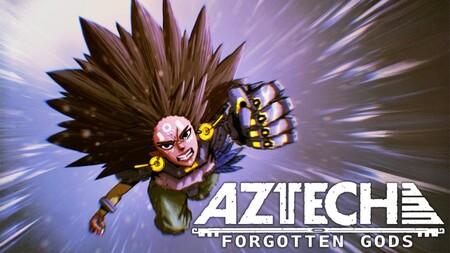 'Aztech Forgotten Gods': el primer juego para consolas de nueva generación hecho en México nos llevará a un mundo azteca cyberpunk