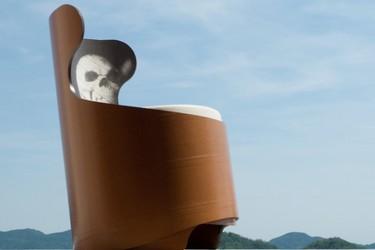 Tonda, la butaca ecológica de Capolinea Design