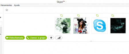 Iniciar videoconferencia con Skype