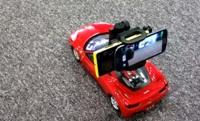 Las cámaras del Nokia Lumia 920 y el Samsung Galaxy SIII a prueba en un coche de juguete