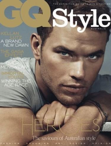 Para babear...Kellan Lutz en la portada de GQ Australia