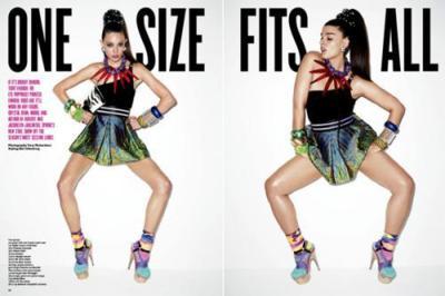 Dos tipos de mujer y un mismo look: cuerpo con curvas contra delgadez, ¿importa la talla?