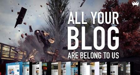 Aquel viejo mal llamado videojuego y el deseo de un futuro mejor. All Your Blog Are Belong To Us (CCLXXXIII)