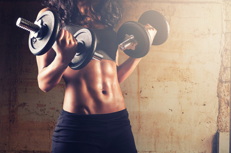 Mitos sobre hacer pesas quema de grasas
