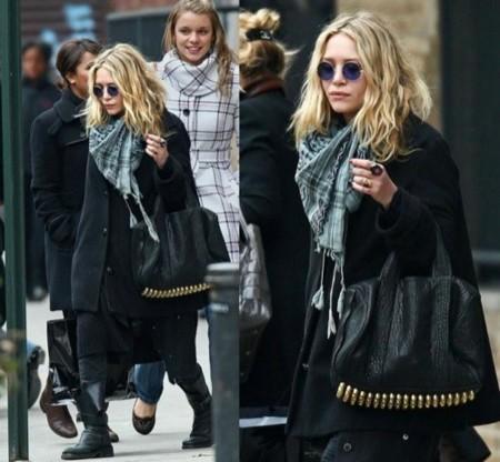 Mary-Kate Olsen apuesta por las anteojos de John Lennon