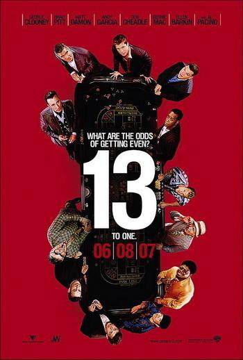 Primer póster de 'Ocean´s Thirteen'