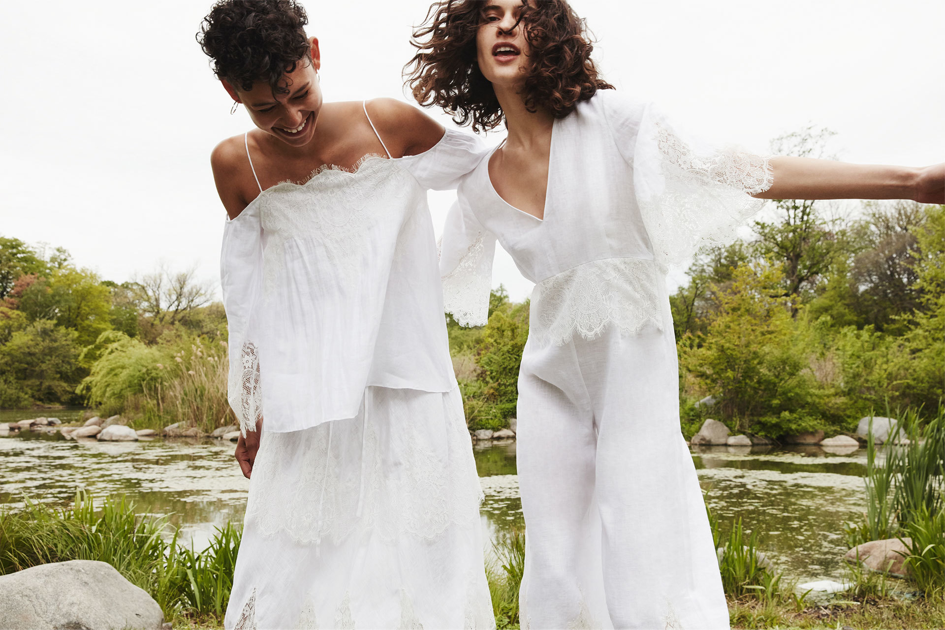Zara editorial Total white verano 2016