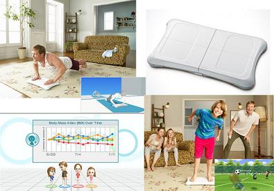Wii Fit de Nintendo para mantenerse en forma