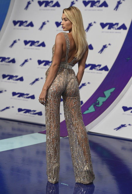 mtv vma video music awards 2017 alfombra roja red carpet Hailey Baldwin