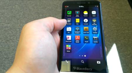 BlackBerry Z30 vuelve a aparecer en vídeo