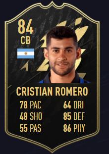 Cristian Romero FIFA 22