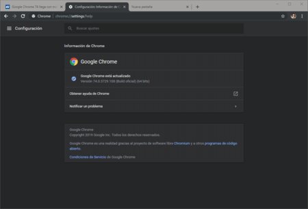 Configuracion Informacion De Chrome Google Chrome 2019 04 24 14 47 41