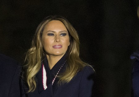 Botas de cuero, el accesorio que Melania Trump necesitaba para estar aún más perfecta