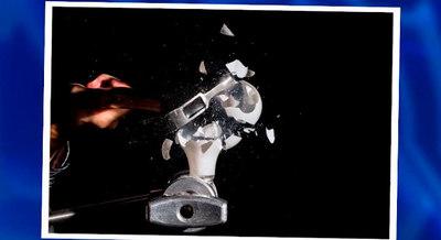 Aprendiendo a usar el flash de mano para congelar imágenes de alta velocidad