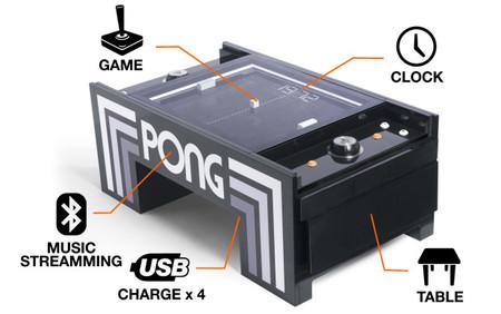 El legendario Pong de Atari regresa en forma de... ¿mesita para el café?