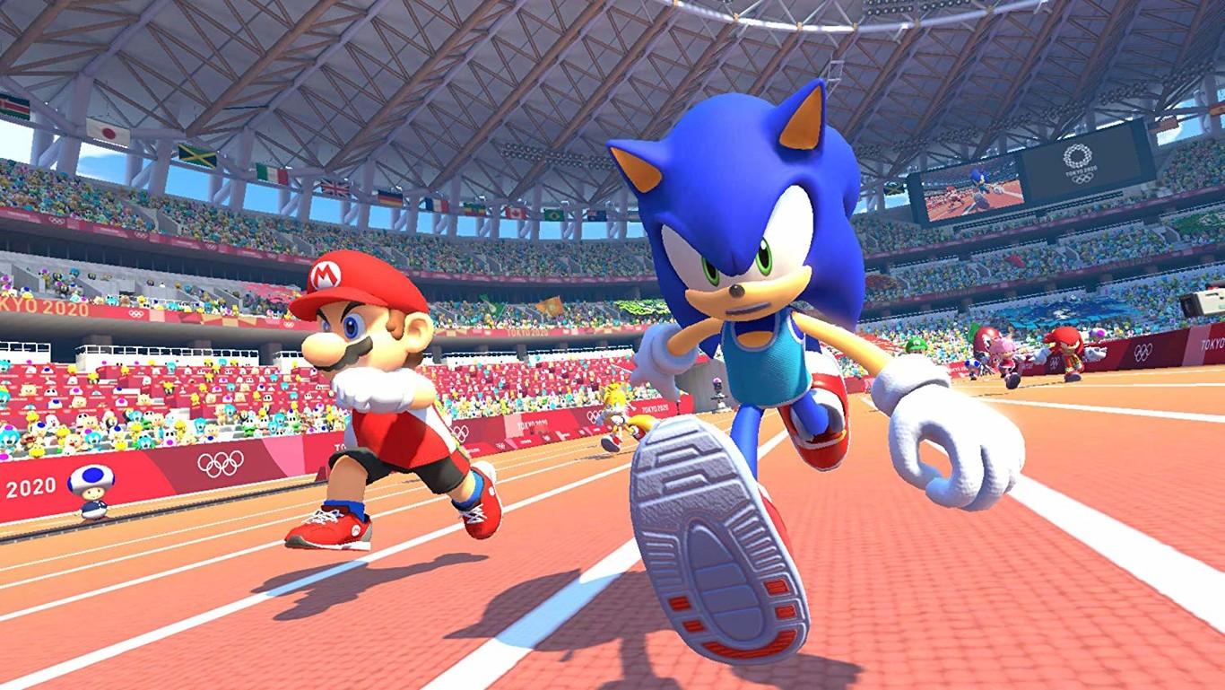 Mario Sonic En Los Juegos Olímpicos Tokio 2020 Las Olimpiadas De Sega Aspiran A Ser El Wii Sports De Switch Y Los Joy Con Pueden Ser La Clave Para Conseguirlo