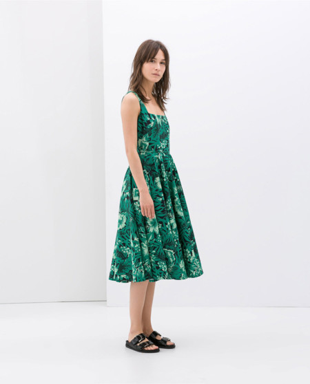 Tropical vestido de Zara