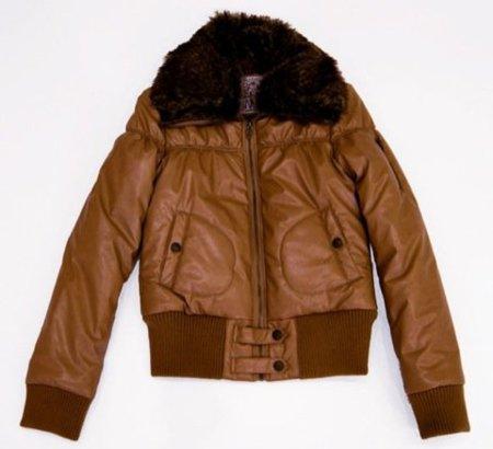 Bershka, abrigo marrón