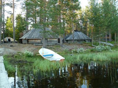 Dormir en ... una cabaña sami en Laponia